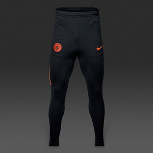 [해외][Order] 16-17 Manchester City Boys Dry Track Pant Squad (Black/Team Orange/Team Orange) - KIDS