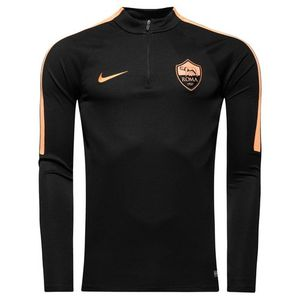 [해외][Order] 16-17 AS Roma Dril Top Squad - Black/Peach Cream/Peach Cream