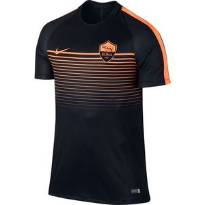 [해외][Order] 16-17 AS Roma Boys Top SS Squad CL (Black/Peach Cream/Peach Cream) - KIDS