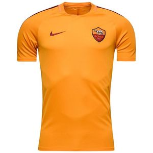 [해외][Order] 16-17 AS Roma  Dry SS Top - Kumquat/Team Red