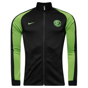[해외][Order] 16-17 Inter Milan NSW N98 Authentic Track Jacket - Black/Electric Green/Electric Green