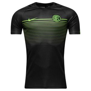 [해외][Order] 16-17 Inter Milan Top SS Squad CL - Black/Electric Green/Electric Green