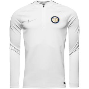 [해외][Order] 16-17 Inter Milan Squad Drill Top - White/Wolf Grey