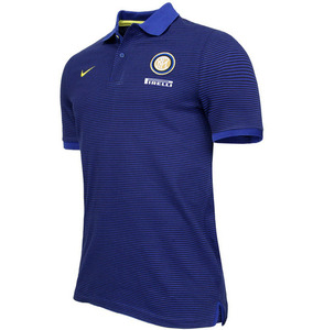 [해외][Order] 16-17 Inter Milan Authentic Polo - Deep Royal Blue/Black/Opti Yellow