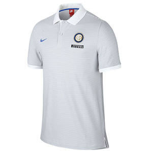 [해외][Order] 16-17 Inter Milan Authentic Polo - White/Wolf Grey/Royal Blue