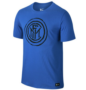 [해외][Order] 16-17 Inter Milan  Crest Tee - Royal Blue