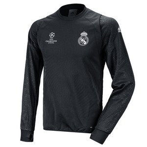 16-17 Real Madrid (RCM) UCL (UEFA Champions League) Training Top L/S
