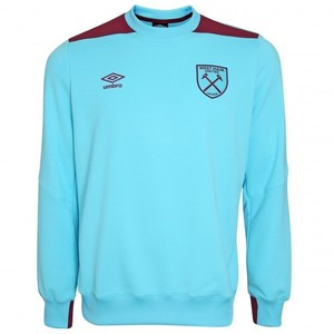 [해외][Order] 16-17 West Ham United Sweat - Bluefish/New Claret