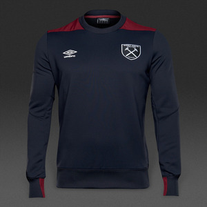 [해외][Order] 16-17 West Ham United Sweat - Galaxy/New Claret