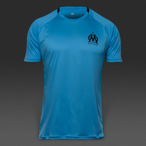 [해외][Order] 16-17 Marseille EU Training Shirt - Blue/Black