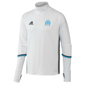 [해외][Order] 16-17 Marseille Training Top - White/Night Navy/Blue