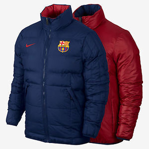 15-16 Barcelona Core Padded Jacket Reversible - Navy