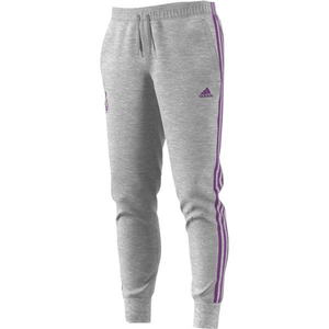 [해외][Order] 16-17 Real Madrid 3 Stripe Pants - Medium Grey Heather/Ray Purple