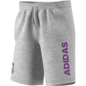 [해외][Order] 16-17 Real Madrid Linen Shorts - Medium Grey Heather/Ray Purple