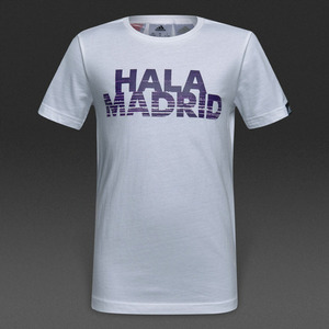 [해외][Order] 16-17 Real Madrid  Boys Gr Tee (White/Ray Purple) - KIDS