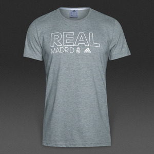 [해외][Order] 16-17 Real Madrid Co Tee - Medium Grey Heather