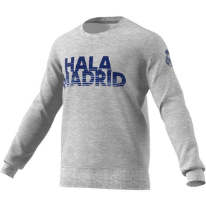 [해외][Order] 16-17 Real Madrid Cr Sweatshirt - Medium Grey Heather/Super Purple/Raw Purple