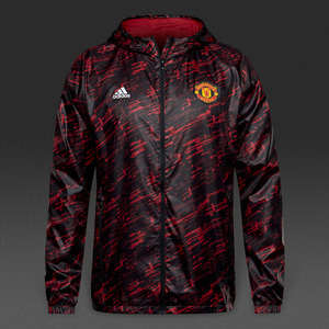 [해외][Order] 16-17 Manchester United Windbreaker - Black