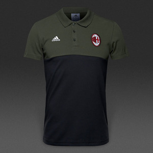[해외][Order] 16-17 AC Milan Polo - Night Cargo/Black