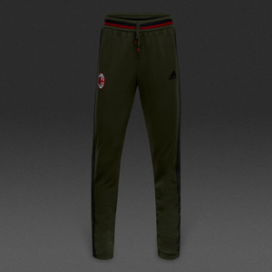 [해외][Order] 16-17 AC Milan Boys Training Pants (Night Cargo/Black/Victory Red) - KIDS
