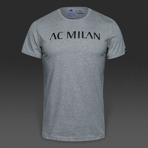 [해외][Order] 16-17 AC Milan Gr BST Tee - Medium Grey Heather