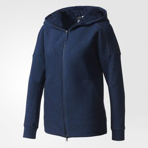Womens ZNE Road Trip Hoody Jacket - Navy