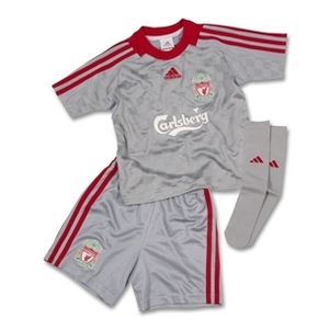 08-09 Liverpool Away Mini Kit - KIDS