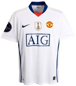 08-09 Manchester Utd Champions League Away (09-10 3rd) (Size:L)