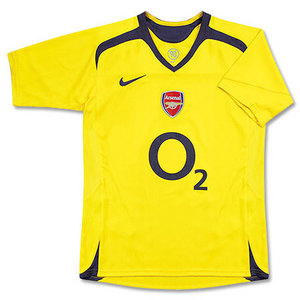 05-06 Arsenal Away Boys