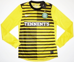 [해외][Order]11-12 Celtic 3rd Player Issue L/S Jersey - Authentic