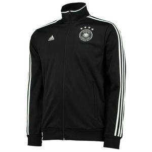 [해외][Order] 17 Germany (DFB) 3 Stripe Track Top - Black/White