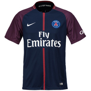 17-18 Paris Saint Germain(PSG) Home Stadium Jersey