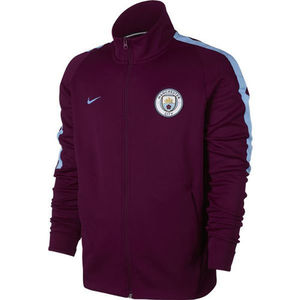 [해외][Order] 17-18 Manchester City Authentic Franchise Jacket - True Berry)