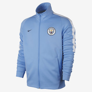 [해외][Order] 17-18 Manchester City Authentic Franchise Jacket - Field Blue/White/Midnight Navy