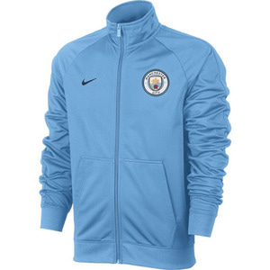 [해외][Order] 17-18 Manchester City Core Track Jacket - Light Blue