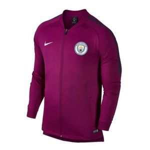 [해외][Order] 17-18 Manchester City  Squad Track Jacket - True Berry