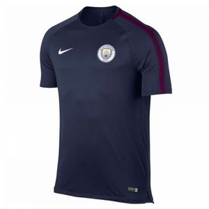 [해외][Order] 17-18 Manchester City Squad Training Top - Navy