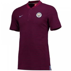[해외][Order] 17-18 Manchester City Authentic Grand Slam Polo Shirt - True Berry