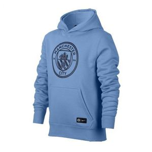 [해외][Order] 17-18 Manchester City Core Core Hooded Top - Blue