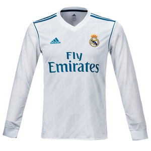 [해외][Order] 17-18 Real Madrid Home UEFA Champions League(UCL) Home L/S