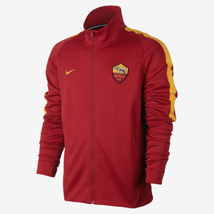 [해외][Order] 17-18 AS Roma Franchise Jacket - Team Crimson/University Gold