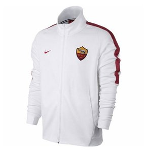 [해외][Order] 17-18 AS Roma Franchise Jacket - White