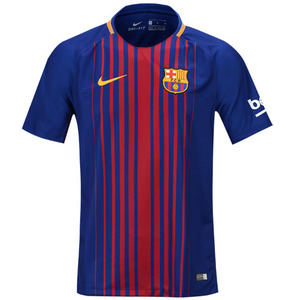17-18 Barcelona Boys Home Stadium Jersey - KIDS