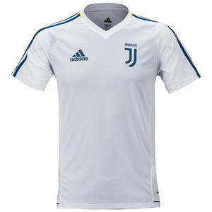 17-18 Juventus Training Jersey - White