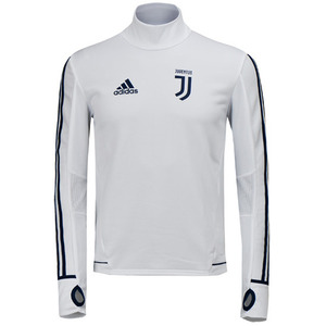 17-18 Juventus Training Top - White