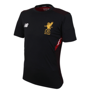 17-18 Liverpool Elite Motion Training Jersey - Black