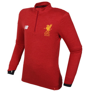 17-18 Liverpool Elite Training MID-Layer Top - Red