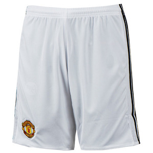 17-18 Manchester United Home Shorts