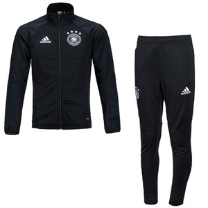 17 Germany (DFB) Boys Training Suit (Black) - KIDS