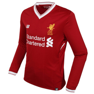 17-18 Liverpool(LFC) Home UCL(UEFA Champions League) L/S